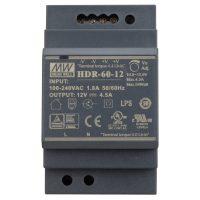 HDR-60-12 Tápegység Sínre pattintós 12V 5A